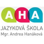 Jazyková škola AHA – logo společnosti