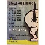 GROWSHOP LIBEREC - zahradnické potřeby – logo společnosti