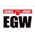 EGW CRANES, s.r.o. - jeřáby, drapáky, ocelové konstrukce – logo společnosti