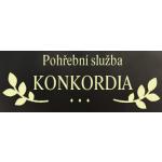 Zdeněk Melichárek- Pohřební služba KONKORDIA – logo společnosti