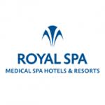 ROYAL SPA, a.s.- léčebné i relaxační pobyty – logo společnosti