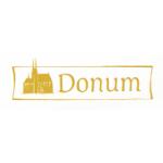 DONUM - knihkupectví a prodejna církevních potřeb – logo společnosti