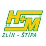 H + M Zlín a.s. (pobočka Zlín-Štípa) – logo společnosti