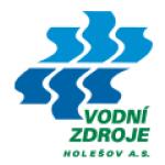 Vodní zdroje Holešov, a.s. – logo společnosti