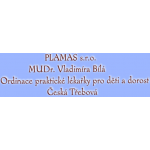 MUDr. Vladimíra Bílá – logo společnosti