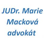 JUDr. Marie Macková, advokát – logo společnosti