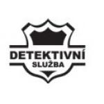 Detektivní služba – logo společnosti