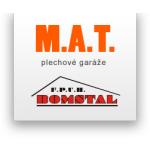 Vávra Milan - M.A.T. - plechové garáže – logo společnosti