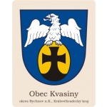 Obec Kvasiny – logo společnosti