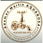 Martin Adamec - AQUAROSA – logo společnosti