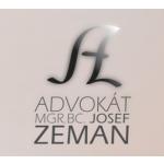 Mgr. Josef Zeman, advokát – logo společnosti