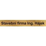 Stavební firma Ing. Hájek Jan – logo společnosti