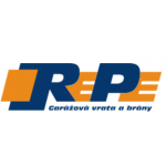 Renza Petr- RePe - garážová vrata a brány – logo společnosti