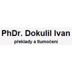 PhDr. Dokulil Ivan- překlady a tlumočení – logo společnosti