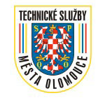Technické služby města Olomouce, a.s. – logo společnosti