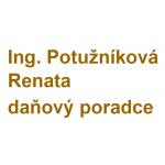 Ing. Potužníková Renata- daňový poradce – logo společnosti