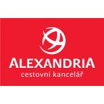 ALEXANDRIA, spol. s r.o. (pobočka Pardubice, Zelené Předměstí, třída Míru 2671) – logo společnosti