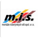 Montáže inženýrských sítí, spol. s r.o. (pobočka Prostějov) – logo společnosti