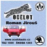 Ocelot - JIROUŠ Roman – logo společnosti