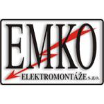EMKO elektromontáže s.r.o. – logo společnosti