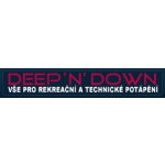 DEEP'N'DOWN škola potápění Praha 3 – logo společnosti