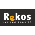 CK REKOS s.r.o. - Cestovní kancelář Rekos – logo společnosti