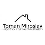 Miroslav Toman - KLEMPÍŘSTVÍ, POKRÝVAČSTVÍ A TESAŘSTVÍ – logo společnosti