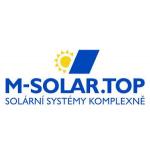 M-SOLAR.TOP, s.r.o. – logo společnosti