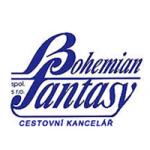 BOHEMIAN FANTASY spol. s r.o.- cestovní kancelář – logo společnosti