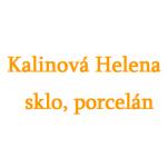 Kalinová Helena - sklo, porcelán – logo společnosti