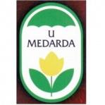Květinářství a kožená galanterie U Medarda – logo společnosti
