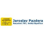 Autodoprava Jaroslav Pazdera - stavební mechanizace – logo společnosti