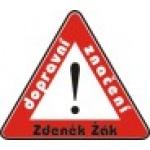 Žák Zdeněk - dopravní značky – logo společnosti