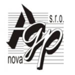 AGP - nova spol. s r.o. - Projekce – logo společnosti