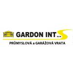 GARDON INT s.r.o. - průmyslová a garážová vrata – logo společnosti