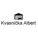 Kvasnička Albert - žaluzie, garážová vrata – logo společnosti