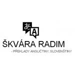 ŠKVÁRA RADIM - PŘEKLADY ANGLIČTINY, SLOVENŠTINY – logo společnosti