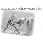 ELEKTROMONTÁŽE PAVEL DVOŘÁK – logo společnosti