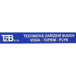 TZB - voda-topení-plyn s.r.o. – logo společnosti