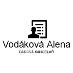 Ing. Viktor Vodák a Alena Vodáková - DAŇOVÁ KANCELÁŘ – logo společnosti