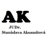 Aksamitová JUDr. a Žáková JUDr. – logo společnosti