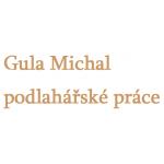 Gula Michal - podlahářské práce – logo společnosti