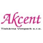 Akcent tiskárna Vimperk, s.r.o. – logo společnosti