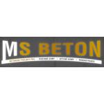MS BETON s.r.o. – logo společnosti