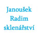Janoušek Radim- sklenářství – logo společnosti