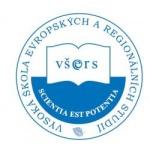 Vysoká škola evropských a regionálních studií, z. ú. – logo společnosti