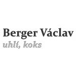 Berger Václav - uhlí, koks a písek – logo společnosti