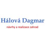 Hálová Dagmar - návrhy a realizace zahrad a parků – logo společnosti