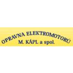 Opravna elektromotorů M. Kápl a spol. – logo společnosti