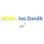 MUDr. Ivo Daněk - ambulantní ORL – logo společnosti